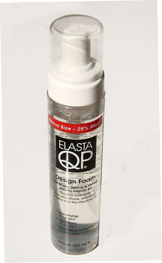 Elasta QP Design Foam for Wraps, Setting & Styling with Pro-Vitamin B5 9.5 oz (281 mL)