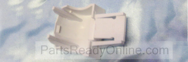 "GE Refrigerator Door Shelf End Cap 162D1162 (WR2X9162) for 1-1/4"" Bar /Aluminum Door Shelf"