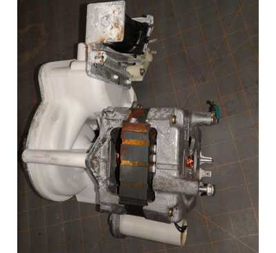 Complete GE Dishwasher Pump and Motor Assembly WD26X10013