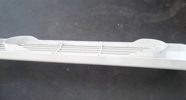 Kenmore Refrigerator Grille 32461026 white