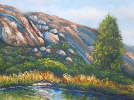 Landscape Oil Painting 24x18