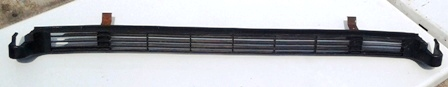 GE Toe Plate Grille and Clips WR74X10151 Black