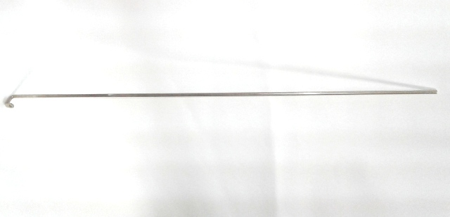 Simmons Metal Crib Rod square top 37.25 inches long