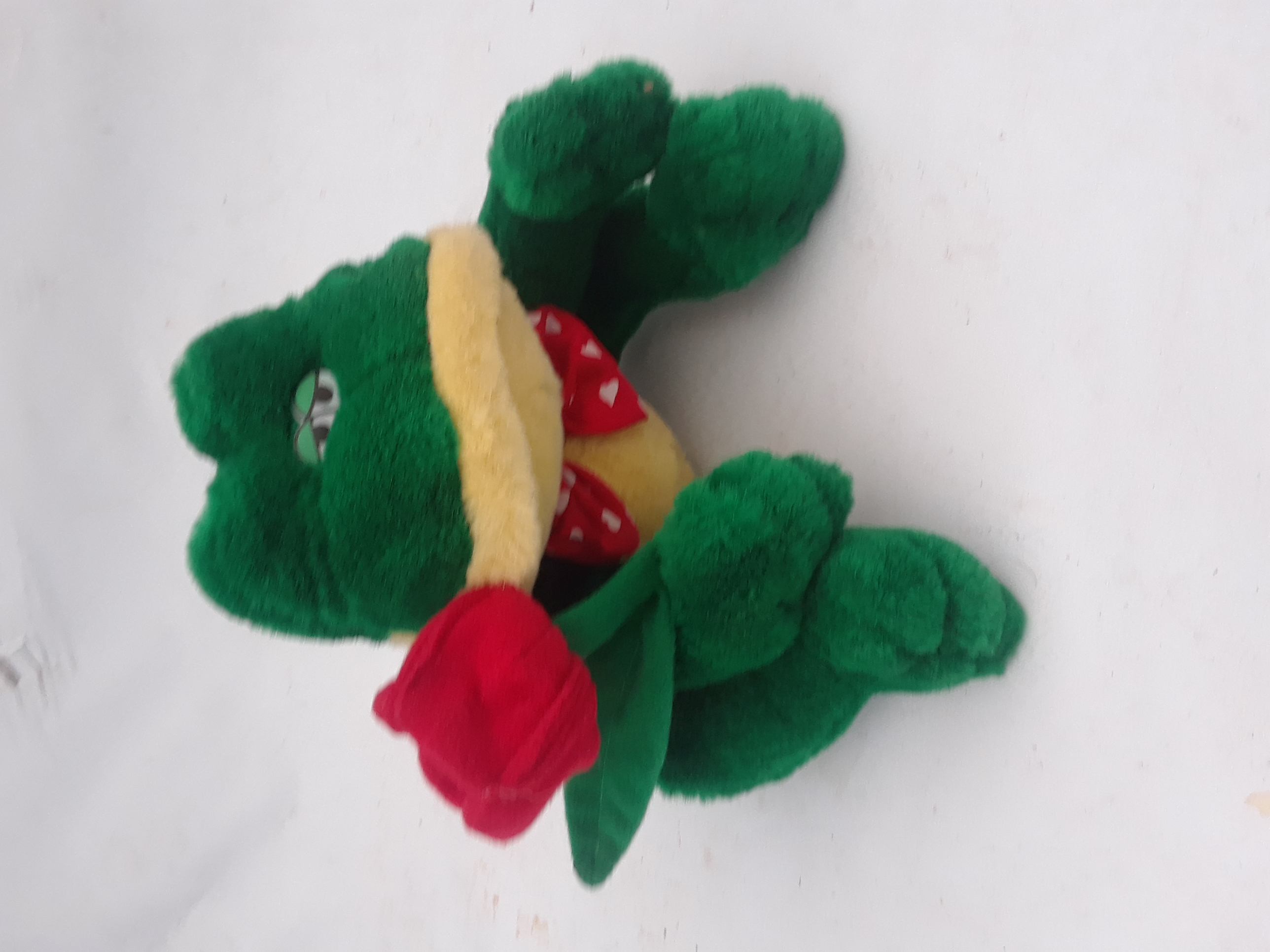 Happy Valentines Day Frog with Rose