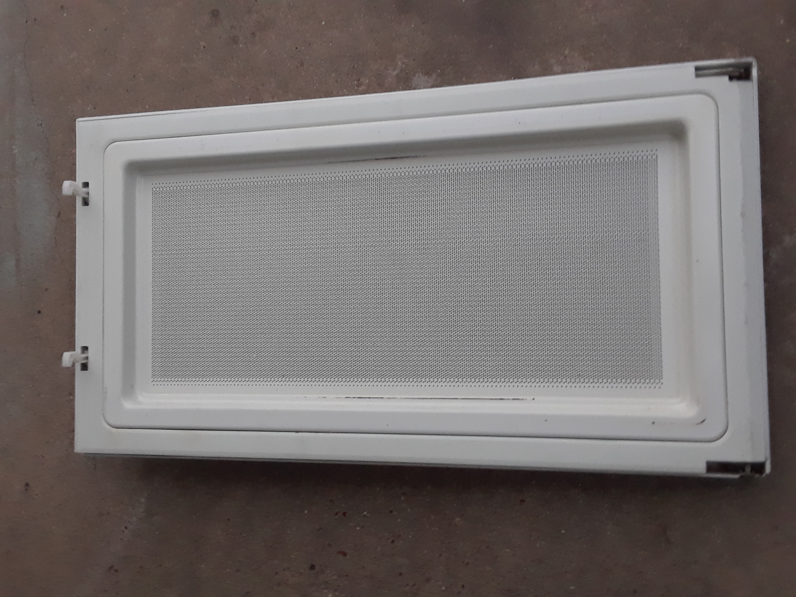 GE JVM1440WH04 Microwave Door Assembly WB56X10270 White