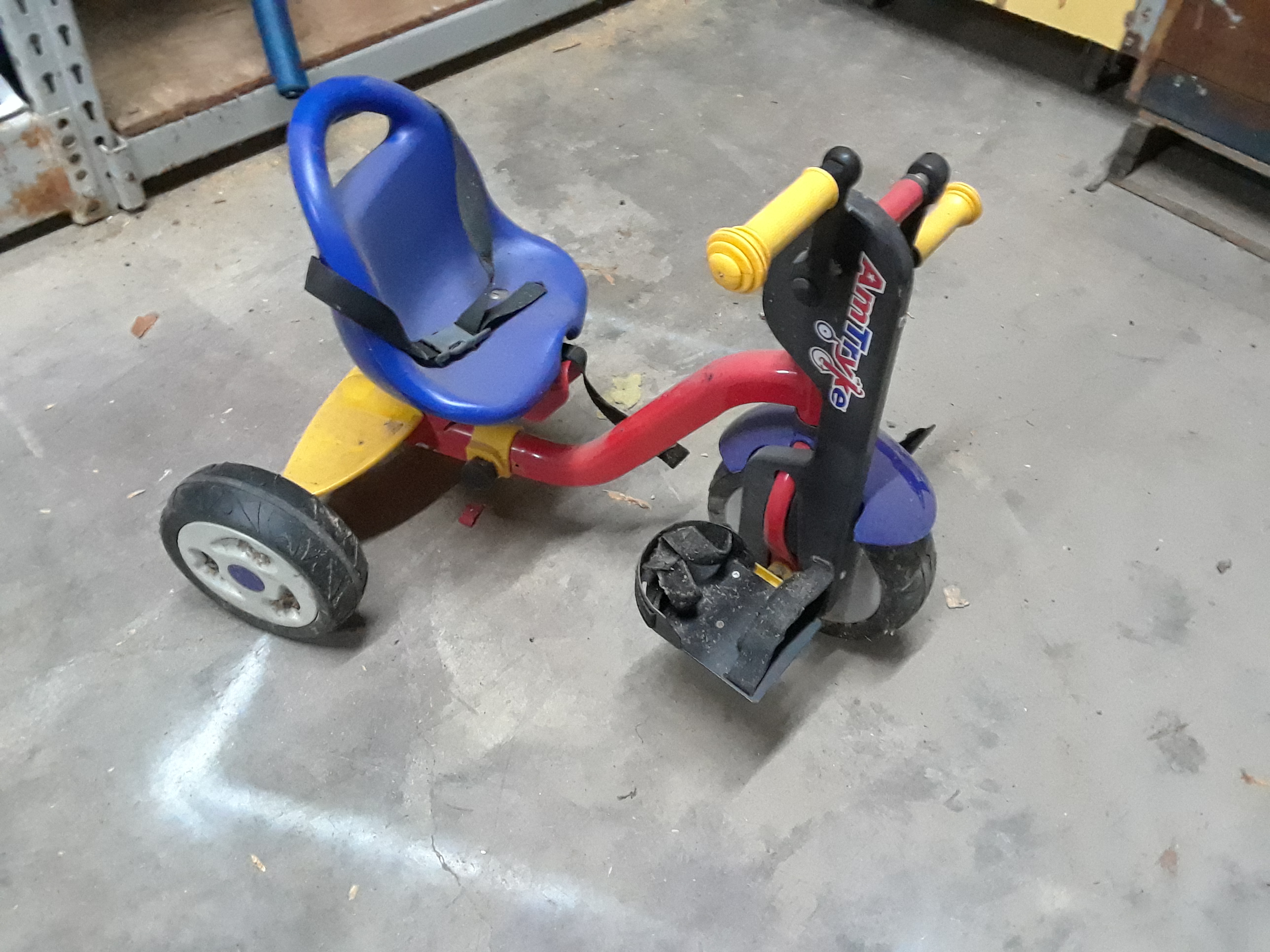 Toddler Amtryke Hand & Foot Tricycle