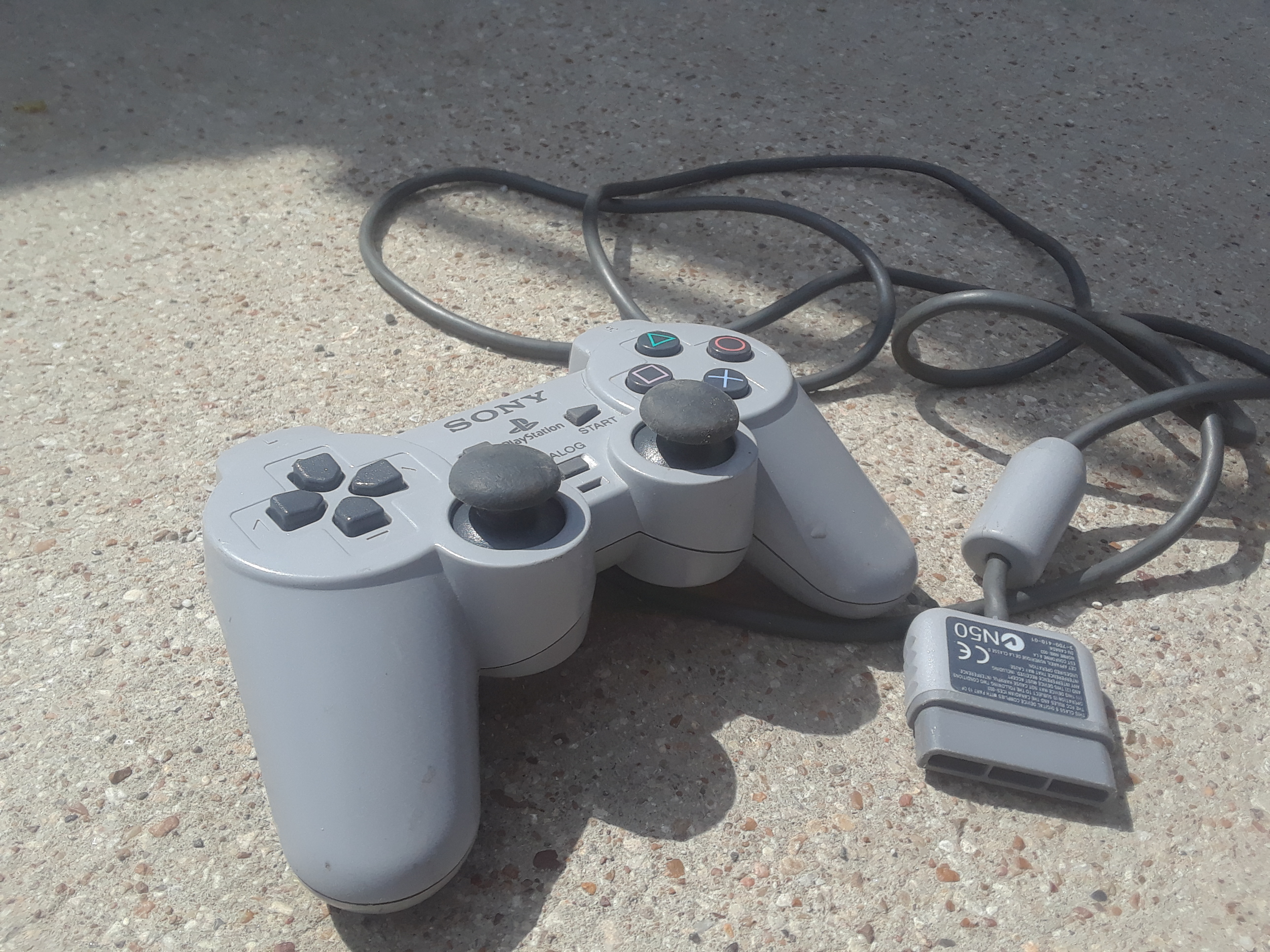 Playstation 1 Wired Controller Scph-1200