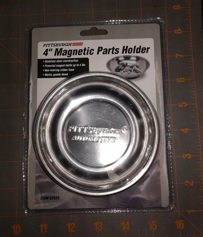 4-inch Magnetic Parts Holder Bowl