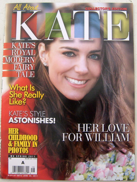 All About Kate Magazine Spring 2011 Collector Edition
