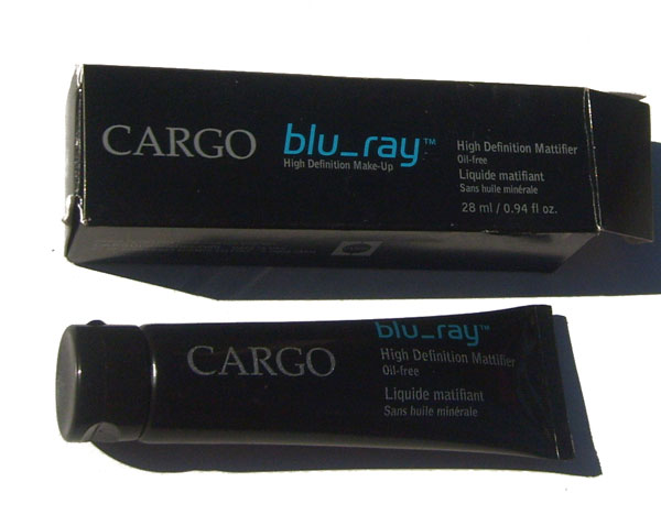 OUT OF STOCK $9.99 Cargo Blue_ray High Definition Mattifier Oil Free 28 mL / 0.94 oz.