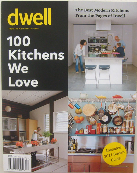 Dwell Magazine 100 Kitchens We Love with 2011 Byers Guide Summer 2011
