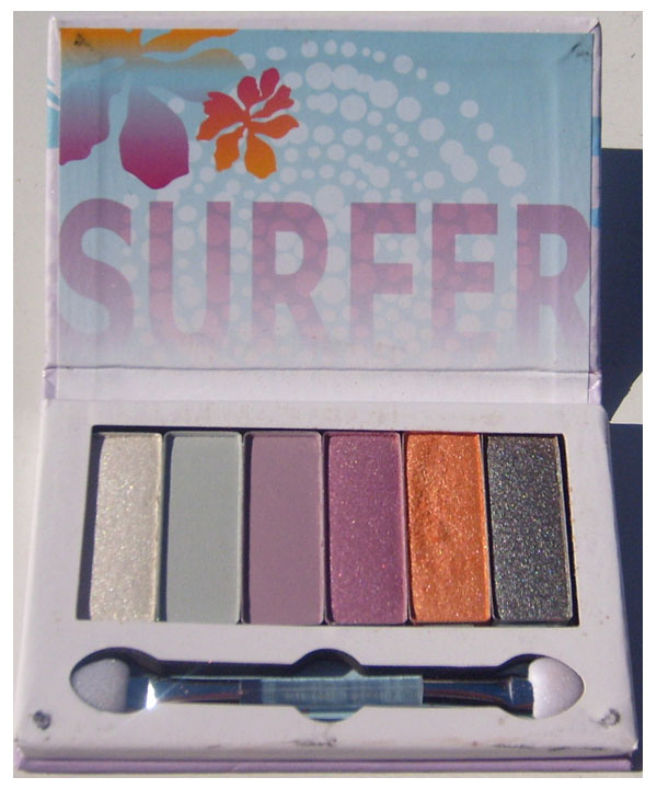 Essence Surfer Babe Eyeshadow Palette 6 Colors 0.38 oz / 11 g