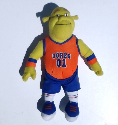 Sports Basketball Shrek The Ogre 15-inch Plush Stuffed Animal Toy