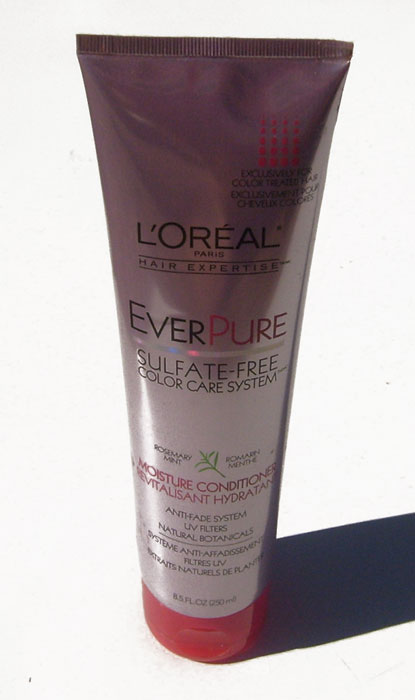 Loreal EverPure Moisture Conditioner Revitalisant Hydrant Sulfate-Free Color Care System Anti-Fade, UV Filters, Natural Botanicals 8.5 OZ (250 mL)