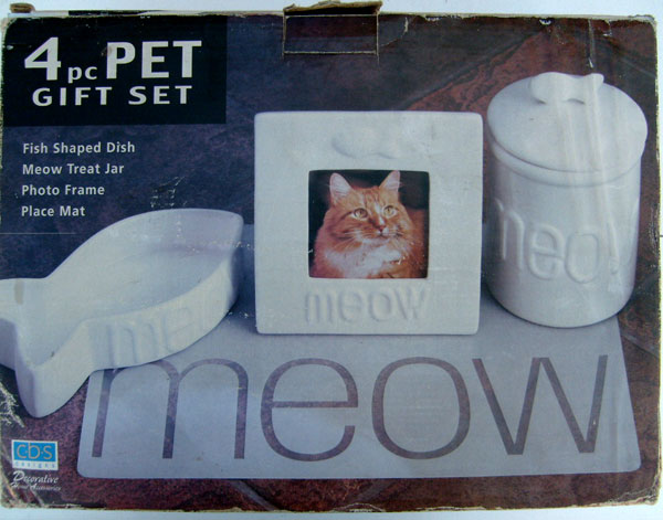 MEOW Treat Jar ONLY