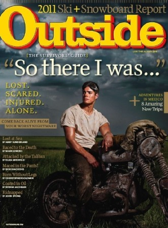 Outside Magazine November 2010 Issue