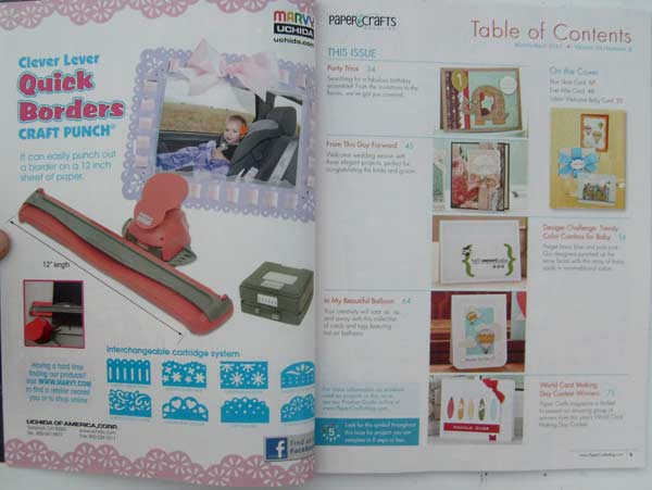 Paper Crafts Magazine March/April 2011
