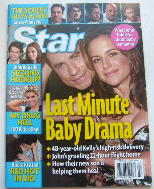 Star Magazine November 22 2010 (The Sexiest Guys Alive)
