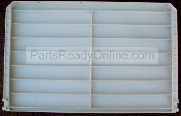 GE Refrigerator Pan Shelf 24.25x15.75x1.75 for 14 cu ft Top-mount Refrigerators