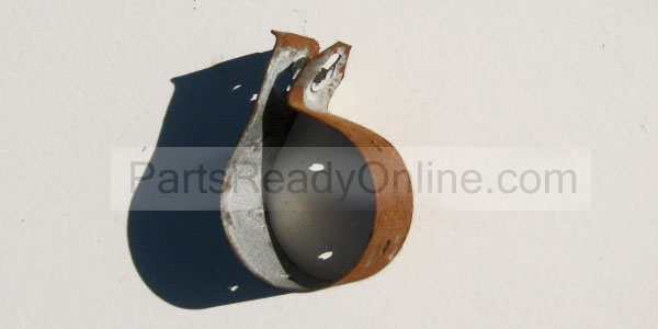 Washer Capacitor Clamp 357030 Tube Clamp Used with Direct Drive Motor