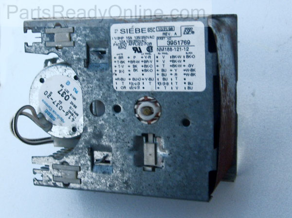 S6300569Timer out of stock whirlpool kenmore washer timer 3951769 (siebe 65c Kenmore 110 Washer Diagram at edmiracle.co