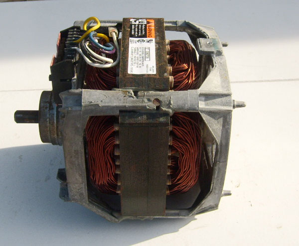 Drive Motor 3363736 with Start Switch 62850 1725/1140 RPM Motor Model C68PXTRS-4419
