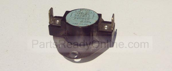 Whirlpool Dryer Cycling Thermostat 342812 (Whirlpool 694674) L140-20F