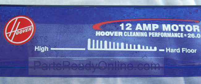 OUT OF STOCK $10 Hoover Hood Replacement Top Cover of the Base for Hoover Upright Vacuum Cleaners