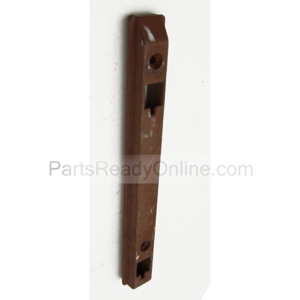OUT OF STOCK $10 Brown Upper Plastic Track for Crib Hand Release Hardware