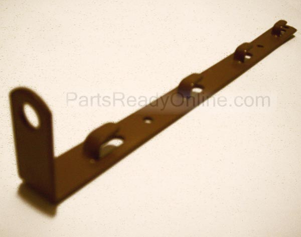 "OUT OF STOCK $20 10.5 Inch Hook-on Metal Bracket with Angle Rod Support for Crib Mattress Spring (Metal Ear Bracket Rod Guide) 10 1/2"" LONG"