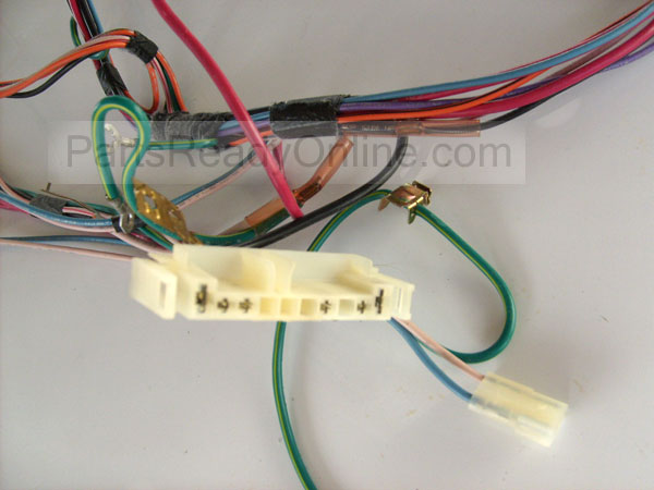 S6302665 whirlpool dryer wiring harness 3405110 partsreadyonline com Whirlpool Dryer Electrical Schematic at edmiracle.co