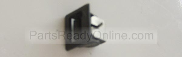 Dryer Door Catch (Small Plastic with Metal Door Lock) Female Door Catch