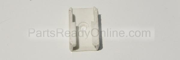 White Plastic Guide for Crib for 3/4 Inch Track