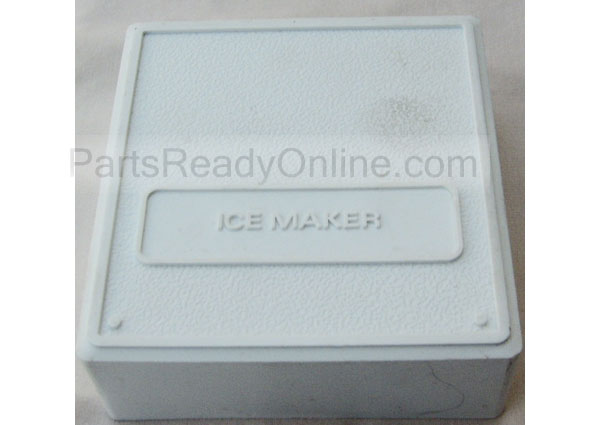 "Ice Maker Cover (fits variety of Ice Makers by Frigidaire, Whirlpool, GE) 4.5"" x 4.75"""