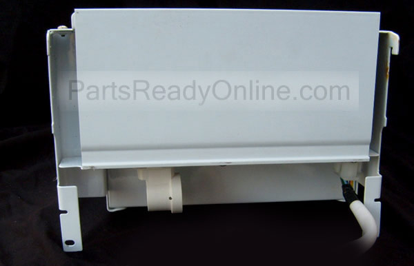 Frigidaire Refrigerator Auger Motor 240326903 5304462594 with Motor Cover, Rail Assembly, Bar Drive, Rotation Stop and Light Bulb Socket