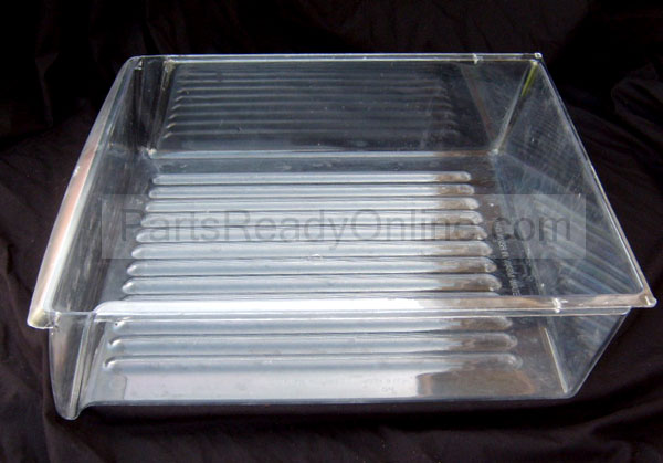 "OUT OF STOCK Frigidaire Side by Side Refrigerator Deli Meat Pan Small Drawer 16.5""W"