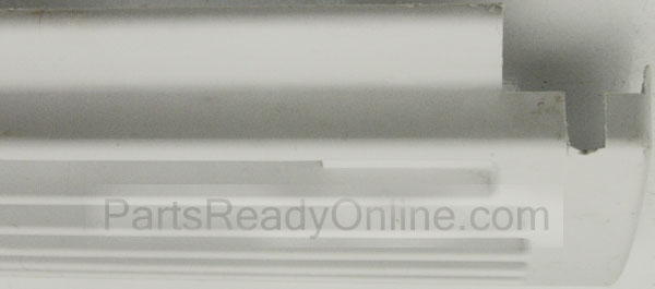 Whirlpool Amana Refrigerator White Kick Plate Bottom Grille 32.5 inch Long