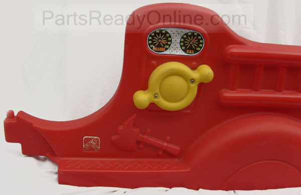 Step 2 Fire Engine Toddler Bed Left Replacement Part (Fire Truck Bed LEFT Piece)