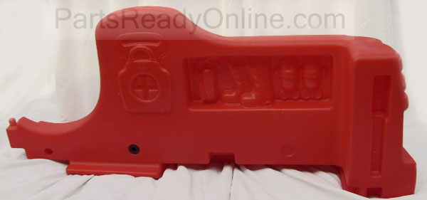 Step 2 Fire Engine Toddler Bed Right Replacement Part -Fire Truck Bed RIGHT Side