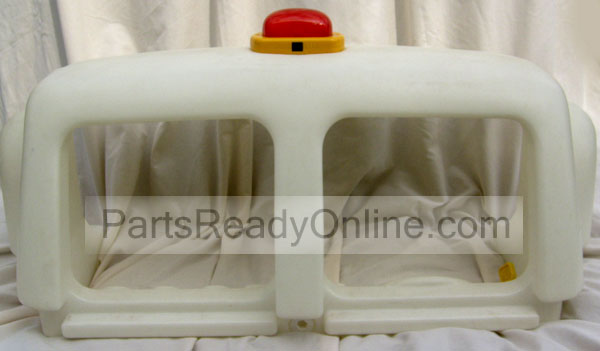 OUT OF STOCK $30 Step 2 Fire Engine Toddler Bed Front Replacement Part (Fire Truck Bed Cab with Red Siren Light)