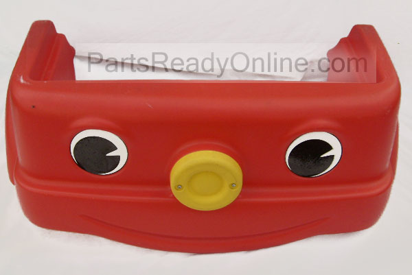 out of stock 35 step 2 fire engine toddler bed front replacement part fire truck