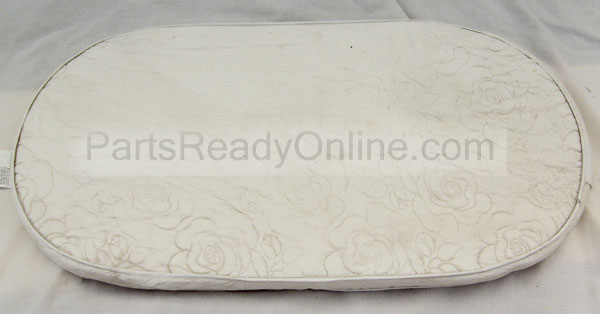 "OUT OF STOCK Bassinet Mattress Pad (Oval) 14"" x 29"""