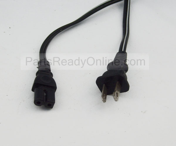 6FT Cassette Player Radio Power Cord Rounded Squared ends 7 A 125 V Polarized Line Connector Longwell E55349 E55333 C7