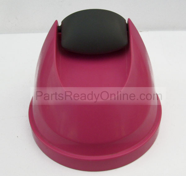 Pink Lid for Eureka Vacuum Dust Cup (The Boss Power Plus Model 4704 Vacuum Cleaner)