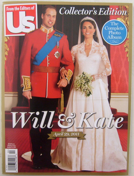 Will and Kate Collectors Edition Complete Photo Album from the Editors of Us