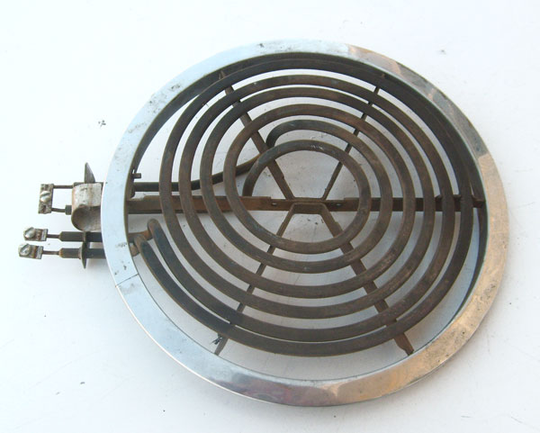 "GE Stove Burner WB30X354 3-Wire Surface Element with Ring Heater 8"" 2450 Watts"