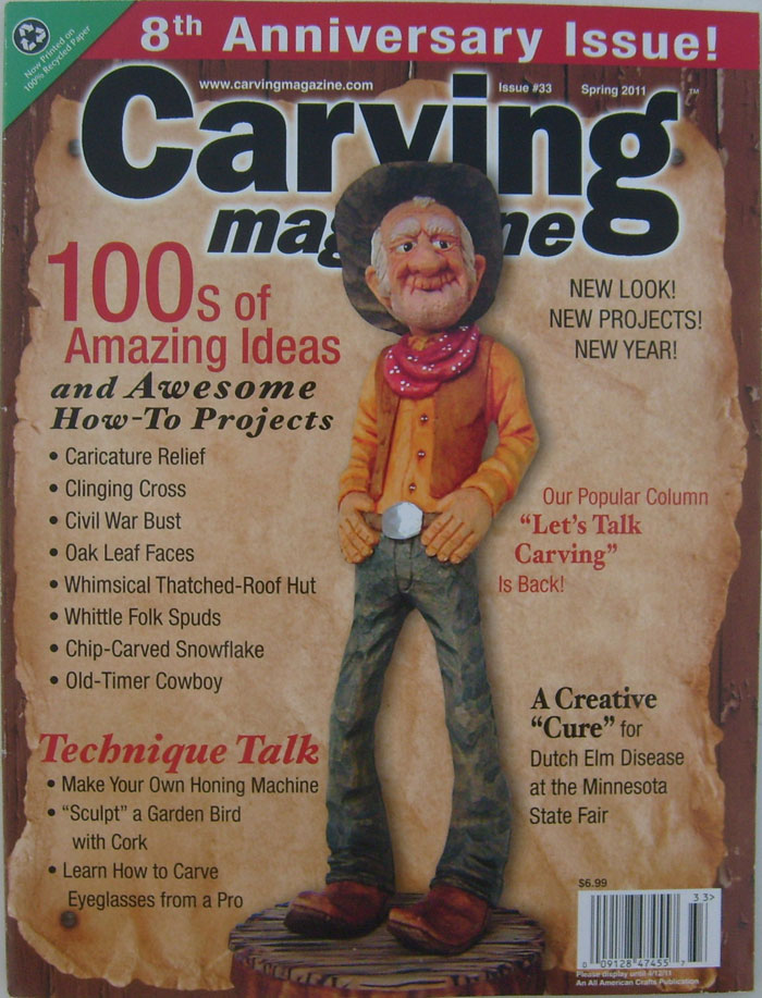 Carving Magazine Spring 2011 Issue #33