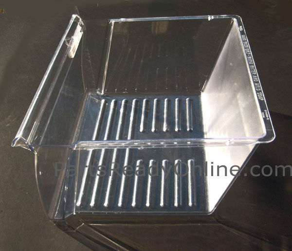 Crisper Pan 2313311 W10178772 with Cover 2179343 & Slide 2179342 for Whirlpool Kenmore Side By Side Refrigerator