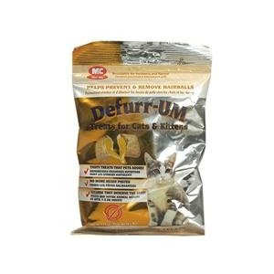Defurr-UM Treats for Cats and Kittens Removes Hairballs 1.75 oz