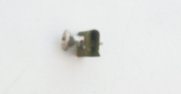 Maytag Door Clip 313910 with Screw for Maytag Dryer LDE412